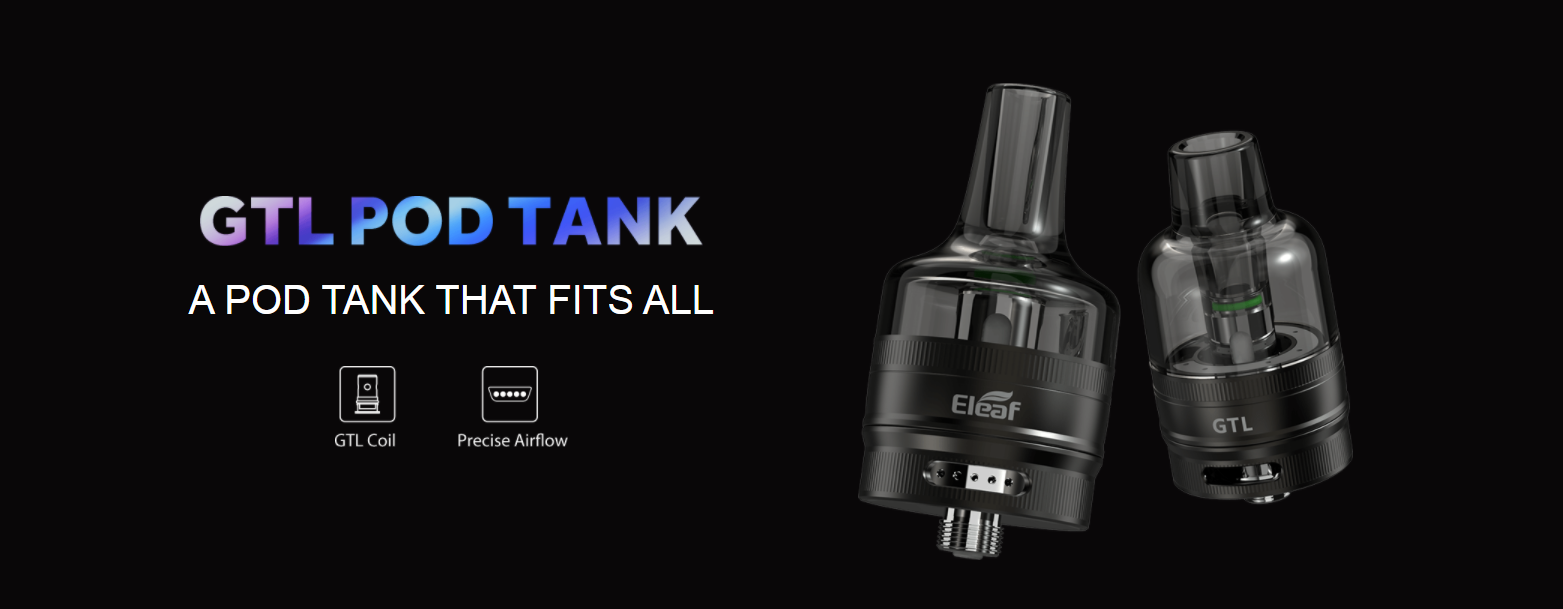 Atomizzatore GTL Pod Tank
