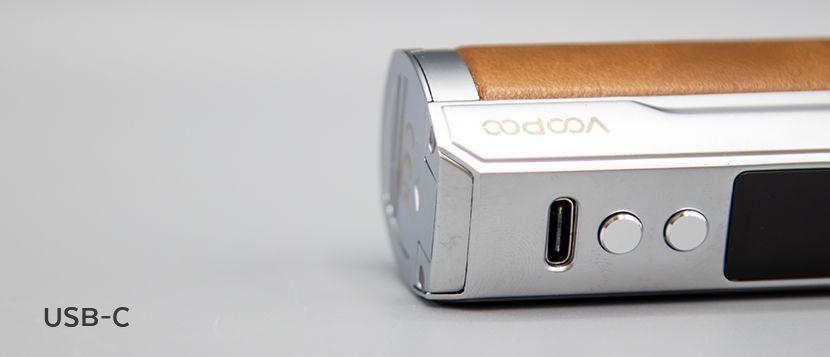 Drag X Plus Professional Edition Box Mod Voopoo usb