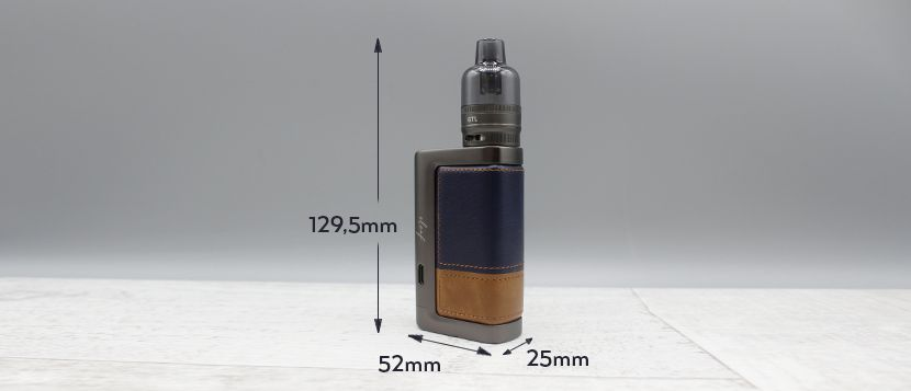 kit eleaf istick power 2 dimensioni