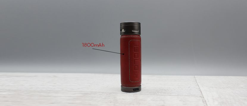 Eleaf ISolo R batteria
