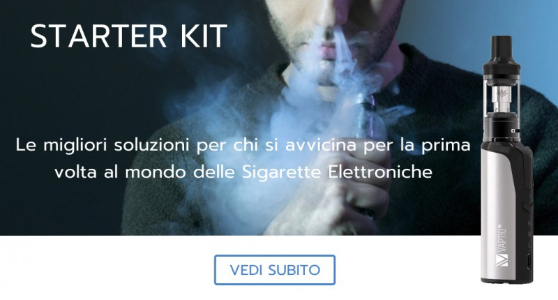 Starter kit per iniziare con la sigaretta elettronica