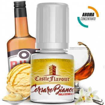 Aroma Castle Flavour Corsaro Bianco 10ml