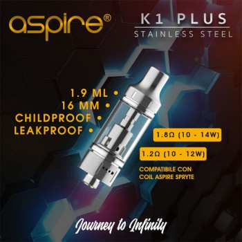 Aspire K1 Plus 16mm