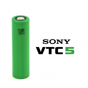 Batteria Sony 18650 VTC5  30A 3.7v 2600mah senza pin