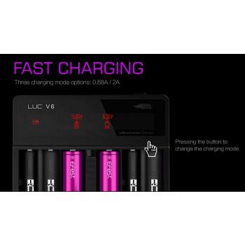 Caricabatterie Efest LUC V6