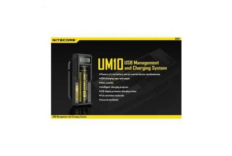 Caricabatterie Nitecore UM10