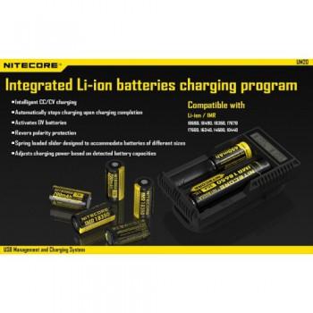 Caricabatterie Nitecore UM20