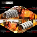 Coil Father Premium Frame Staple Coils 2pz
