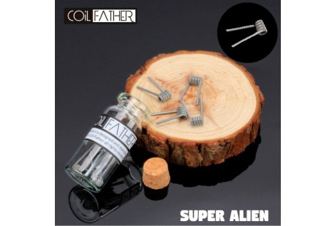 Coil Father Premium Super Alien Coils 10pz Bottle