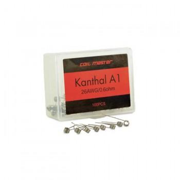 Coil Master Resistenza Prefatta Kanthal A1 26GA 0.6Ohm 100pz
