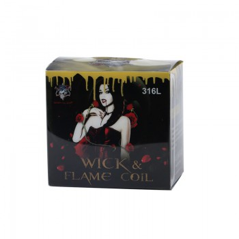 Demon Killer Wick & Flame Coil 316L