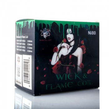 Demon Killer Wick & Flame Coil Ni80