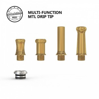 Drip Tip Ambition Mods Kit 4 pz Ultem