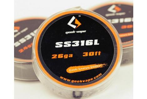 Filo Resistivo Geekvape Acciaio SS316L 26GA