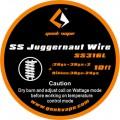 Filo Resistivo Geekvape Juggernaut SS316L (28GA+38GA)x2 + Ribbon (38GAx24GA) 3m