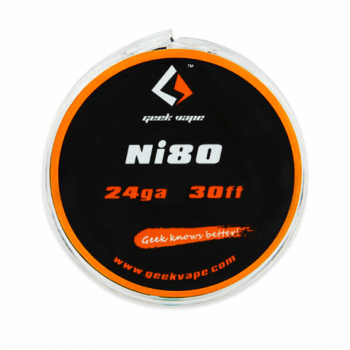 Filo Resistivo Geekvape NI80 24GA