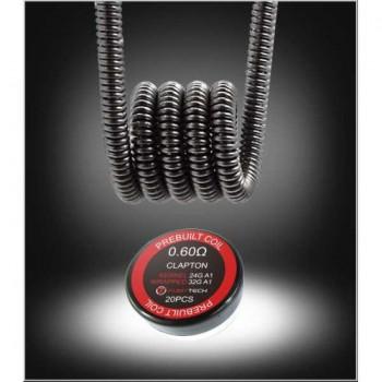 Fumytech Coil Pronte Clapton 0.60 Ohm 24GA + 32GA A1 20 Pz
