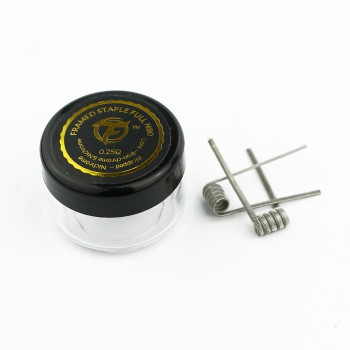 Fumytech Coil Pronte Framed Staple Full N80 0.25 Ohm 2 Pz