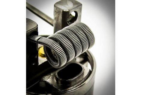 Fumytech Coil Pronte Framed Staple Full ss316 0.25 Ohm 2 Pz