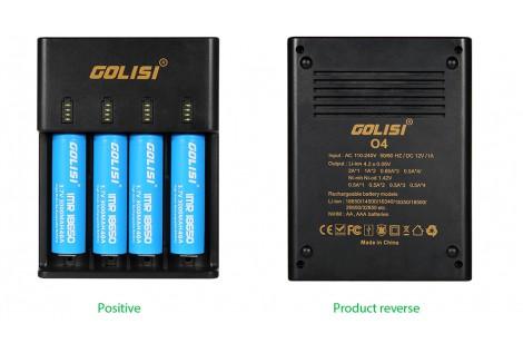 Golisi O4 2A Fast Smart Charger 4 Slot