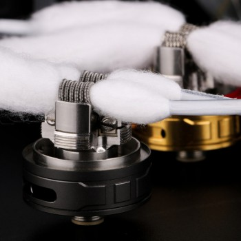 Hugsvape Snow Cotton and Coils Clapton Kanthal A1 0.3Ohm 2pz