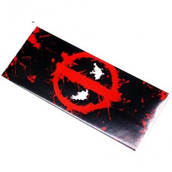 PVC Battery Wrap 18650 Deadpool
