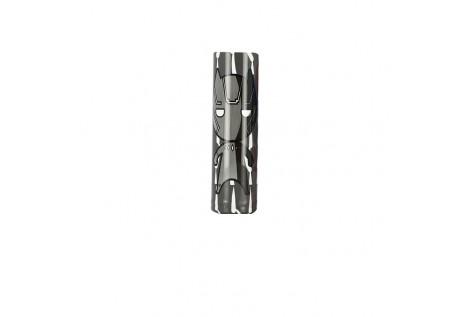 PVC Battery Wrap V2 20700 21700 Black Panther 1pz